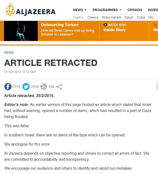 Al Jazeera flood retraction.JPG