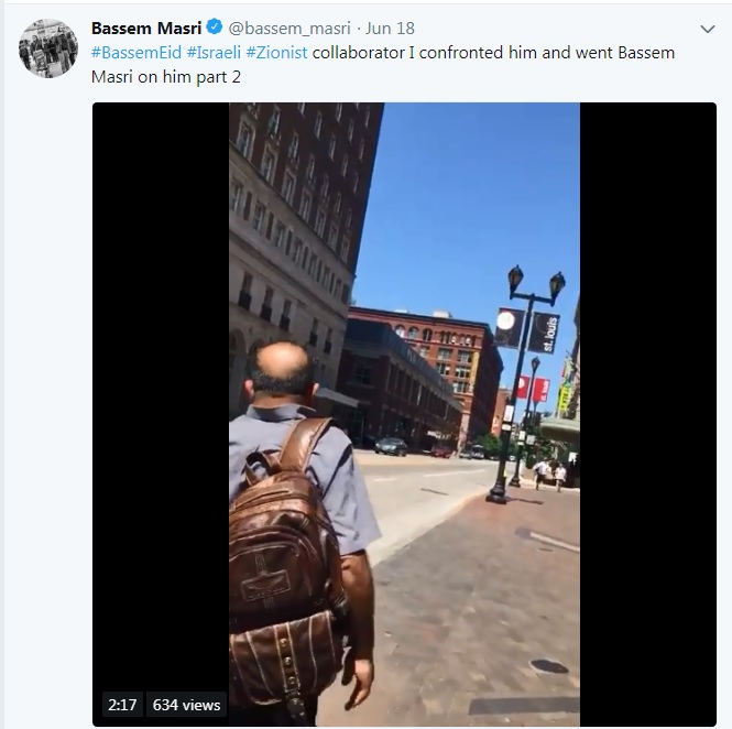 Bassem Masri Accuses Bassem Eid of Being a Collaborator.jpg