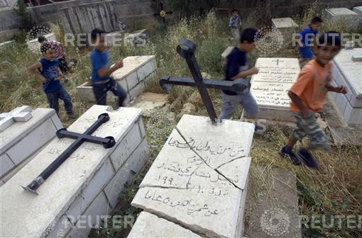 Christian cemetery desecrated2.jpg