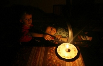 Gaza children in candlelight.jpg