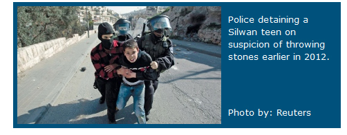 Haaretz silwan arrest.jpg