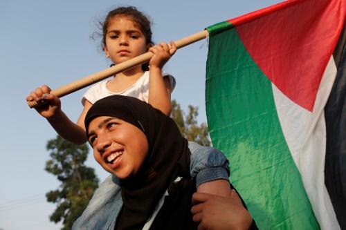 Israeli Arabs demonstrate Nakba.png