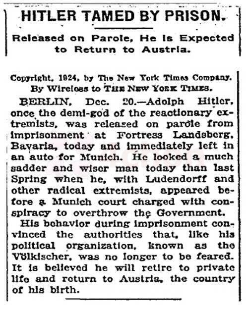 NYT-Hitler Release from Prison.jpg