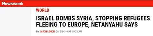Newsweek netanyahu refugees2.jpg