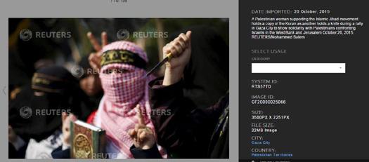 Reuters Palestinians confront Israelis 2.JPG