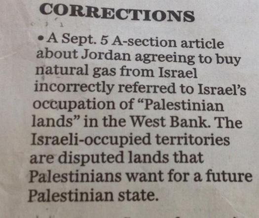 WaPo print correction Palestinian land.jpg