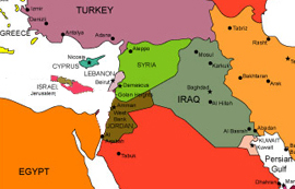 CAMERA Snapshots: Israel Wiped Off Middle East Map