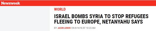 newsweek Netanyahurefugees.jpg