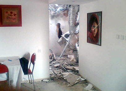 rockets hits room.jpg
